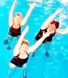 Заняття аквааеробікою - ліки і джерело задоволення