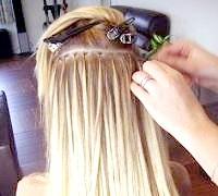 Англійська технологія нарощування волосся