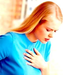 Біль у грудях: які причини і що цьому сприяє?