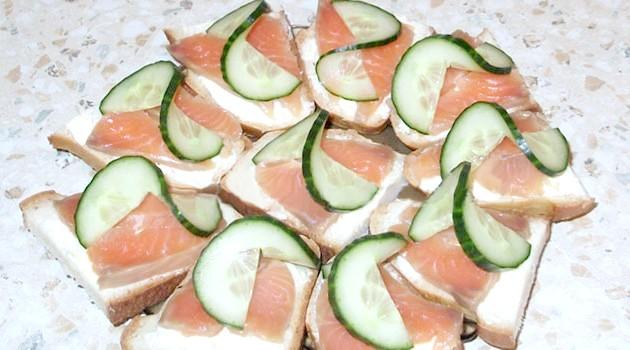 Бутерброди з рибою (рецепти)