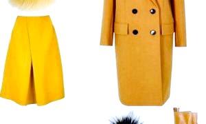 Гірчичний колір одягу - від яскравості до елегантності
