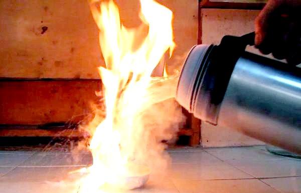 Фото - Бензин горить фото