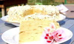 Готуємо торт «наполеон» в домашніх умовах - цей рецепт вишуканої страви під силу будь-якій господині
