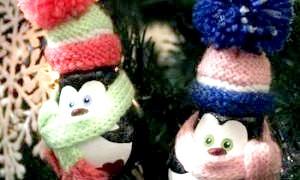 Готуємося до свята: новорічні іграшки своїми руками з лампочок