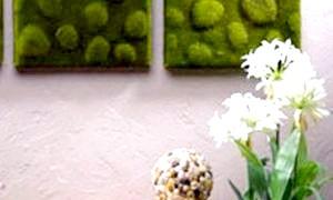 Штучний мох: особливості, способи виготовлення та ідеї для декору