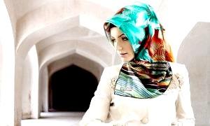 Як красиво! зав'язати хіджаб - огорнути себе чарівною таємницею ...
