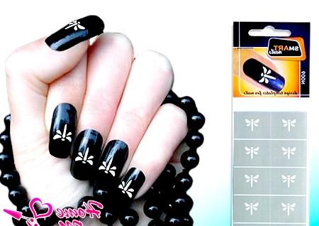 Фото - наклейки бабок для нігтів