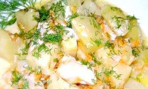 Як згасити курку з картоплею різними способами