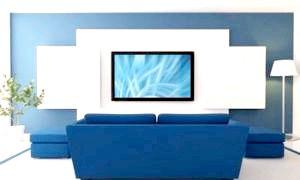 Як повісити телевізор на стіну. вибираємо місце, монтуємо на кронштейни