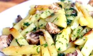 Як посмажити картоплю з грибами - кулінарні хитрощі