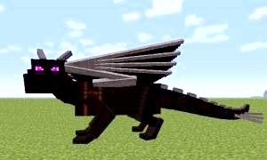 Як зробити дракона в «майнкрафт» і чи можливо це без мода