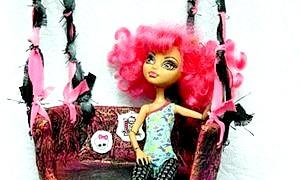 Як зробити гойдалки для ляльок - іграшки своїми руками