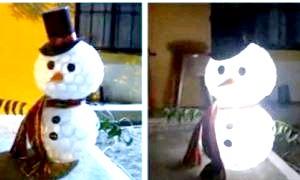 Як зробити сніговика з пластикових стаканчиків: новорічна скульптура в будинку