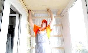Як утеплити балкон