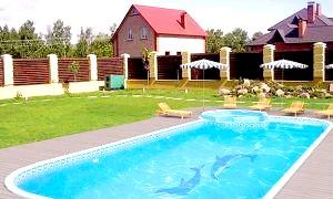 Як вибрати басейн для заміського будинку?