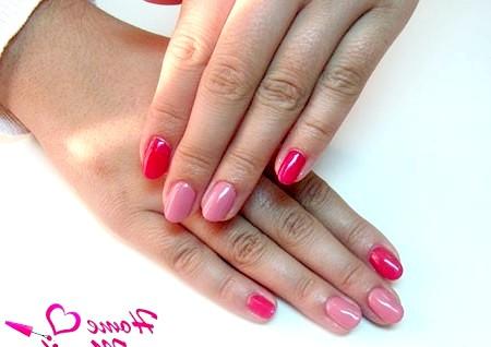 Фото - гарний манікюр на овальних нігтях
