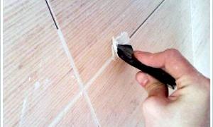 Як затирати шви на плитці - слідуємо інструкції