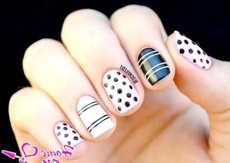 Фото - стильний манікюр на маленьких нігтях