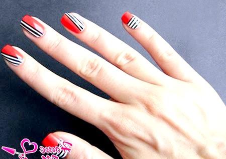 Фото - модний нейл-арт для маленьких нігтів