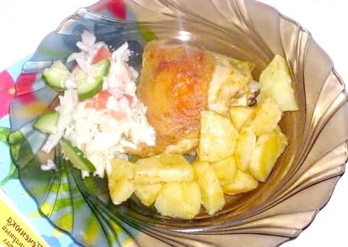Фото - Стегенця з картоплею в духовці