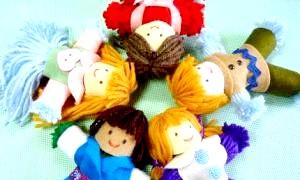 Лялька з ниток своїми руками - древній і сучасний оберіг для вашого будинку