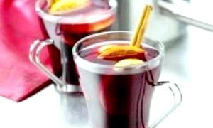 Улюблений спиртний напій - винний палаючий зимовий, а саме, глінтвейн