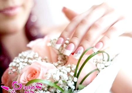Кращі ідеї весільного французького манікюру