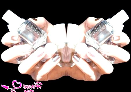 Магічні відблиски на дзеркальних нігтях