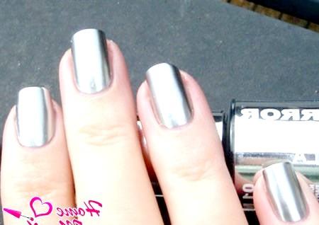 Фото - ідеальне дзеркальне покриття для нігтів