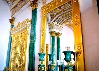 Фото - Малахіт в арітектуре. Фото з сайту classic-art-ru.livejournal.com