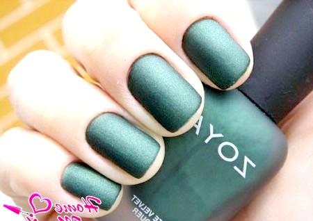Фото - матовий лак для нігтів Zoya