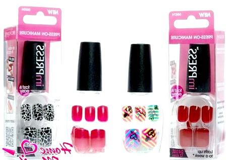 Фото - фірмова упаковка покриття для нігтів Impress