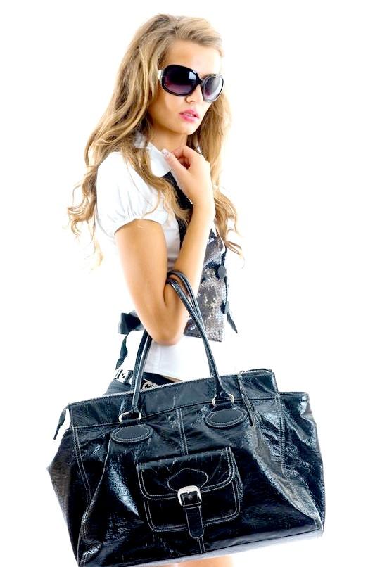 Модні аксесуари: жіночі шкіряні сумки