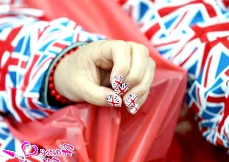 Модний манікюр в британському стилі