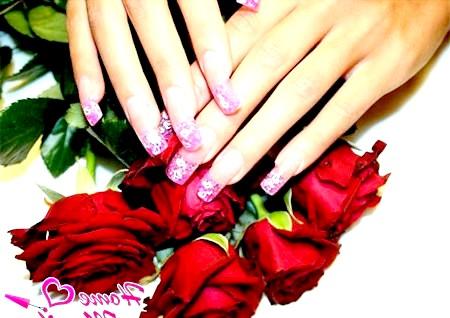 Фото - стильний дизайн нігтів на день святого валентина