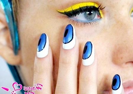Фото - гарні нігті на літо 2014