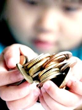 Чи можна давати дитині гроші?