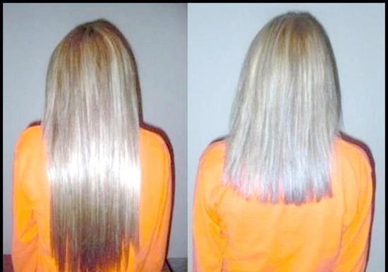 Нарощування натурального волосся