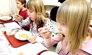 Кілька слів про правильне харчування школярів