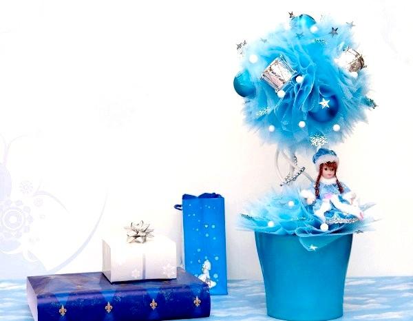 Фото - Новорічний топиарий фото
