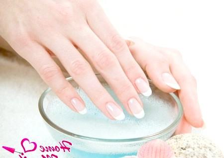 Фото - ванночка для відбілювання нігтів