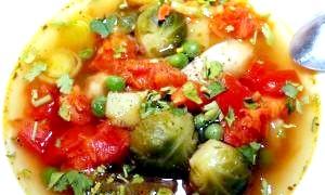 Овочевий суп для схуднення і здоров'я