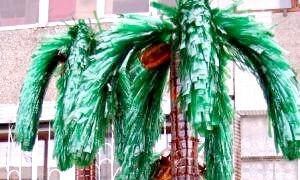 Пластикова екзотика: як зробити пальму з пластикових пляшок