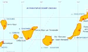 За яким тварині названі Канарські острови?
