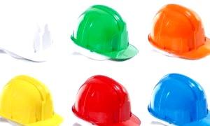 Чому будівельні каски жовті, оранжеві або червоні?