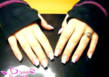 Фото - квадратні нігті