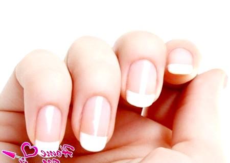 Фото - овальна форма нігтів