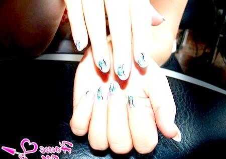 Фото - короткі круглі нігті