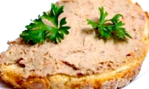 Рецепт печінкового паштету з курячої печінки - швидкий рецепт