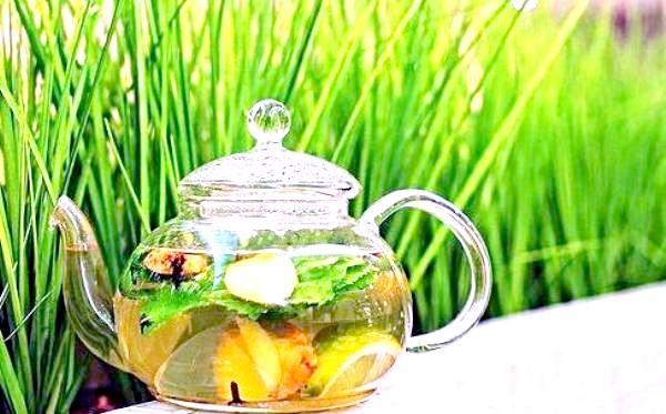 Фото - чай з імбиру